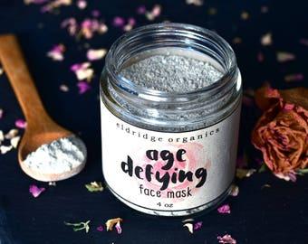 Age Defying Face Mask - Anti Aging - Vegan Face Mask - Organic Face Mask - Face Mask