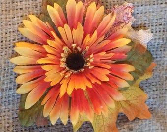 Autumn Hair Flower