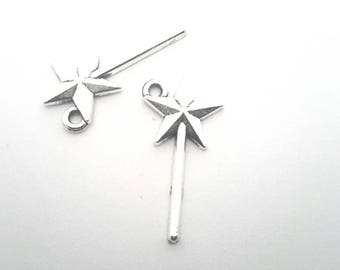 Set of 2 charms wands