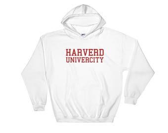 Harverd Univercity Hooded Sweatshirt