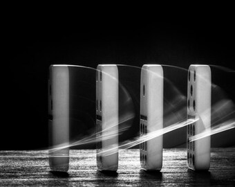 """black and white photography, fine art, dominoes, monochromatic wall art - 16x20, 11x14 or 8x10 photograph, """"Domino Effect"""""""