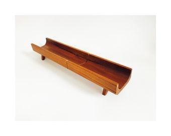 Vintage Danish Modern Teak Baguette Cutting Board / Selandia Designs