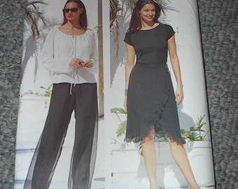 HALF PRICE Sale UNCUT Butterick 6645 Pattern Chetta B Sizes 6-8-10 Was 10.00 Now 5.00