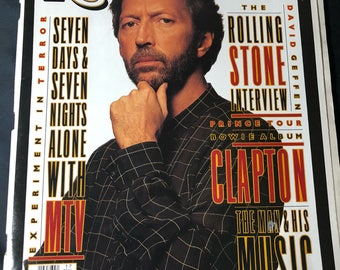 1993 Rolling Stone Magazine- Eric Clapton