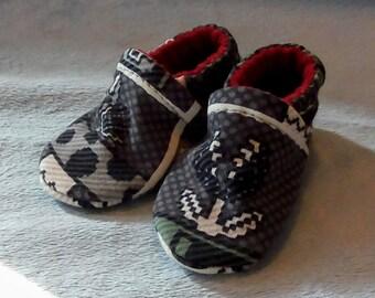 Super Mario Bros: Soft Sole Baby Shoes 0-3M