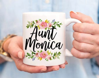 Custom Aunt Mug - Aunt Birthday Gift - Aunt Gifts - Aunt to Be Gift - Gifts for Auntie - New Aunt Gift - Gifts for Aunts - Personalized Mug