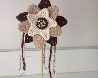 Magic flower wand