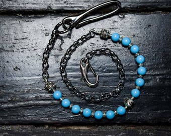 Blue wallet chain