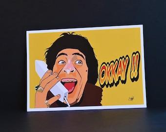 Jacouille la fripouille cartes postales (Pack de 2)