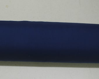 Navy Blue Plain Poly Cotton Fabric Table Covers Crafts Runner Dress Lining Sewing Dress Fabric - Sold By The Metre