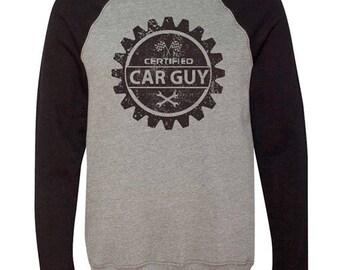 Certified Car Guy – Pullover Sweatshirt