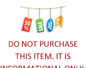 DISCOUNT COUPON CODES - Wholesale - Save on Multiple Purchases - How to use coupon codes - Please don't buy this listing