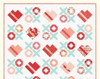 """Love You Most Quilt Pattern, #1004 NEW by Cotton Way, Bonnie Olaveson, 72"""" x 72"""""""