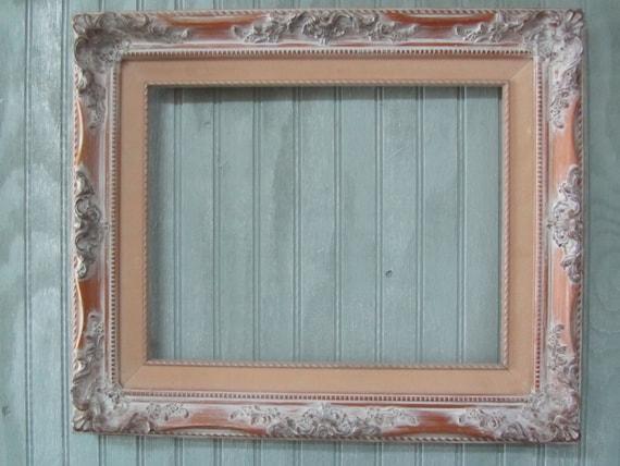 SHABBY CHIC FRAME, vintage picture frame,large frame,Gallery Frame ...