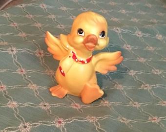 Jahrgang gelb Ostern Ente