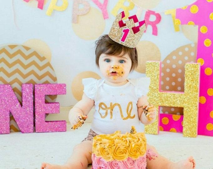 As Seen on Access Hollywood Custom Birthday Crown   Birthday Girl Crown   Cake Smash   1st Birthday   21st Birthday    Baby Birthday