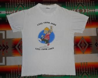 Less Than Jake T Shirt Size Medium Goldfinger Ska Punk