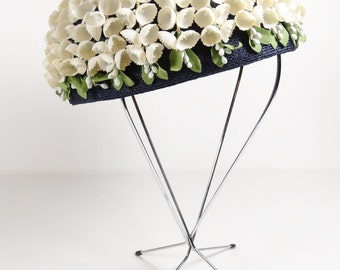 Stunning Lily of the Valley Vintage Hat - Sibleys of Rochester