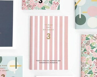 JParadise - Undated THREE Months Planner, Weekly Planner, Businner Planner, Schedule Planner, Notebook, Diary Book, Personal Note (3 Styles)