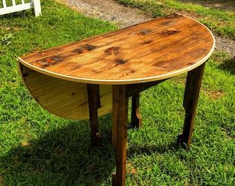Circle Folding Table