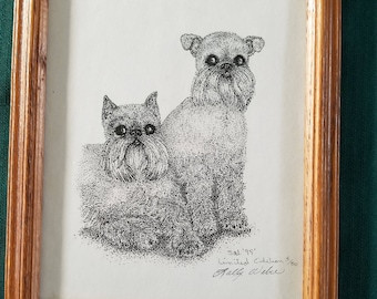 Brussels Griffon Limited Edition Print 5/50