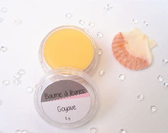 Lip balm guava - 100% natural shea butter - 10 ml or 8 g