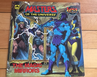 Vintage 1980s The Masters of the Universe He Man The Magic Mirrors Children's Book!