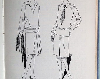 Vintage 1920s sewing book Pattern Making for Dressmaking and Needlework 1929 Emily & Marian Wallbank pattern drafting 20s undies fashion