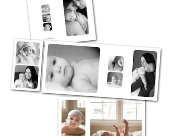 Mod 4x8 Accordion - Photoshop template download by Photographer Cafe