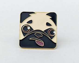 Pixey the Pug pin (1)