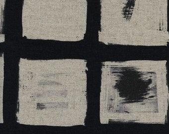 Woodblock (Canvas Fabric) by the 1/2 yard
