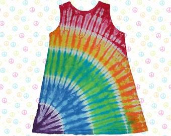 Rainbow arc play dress or jumper