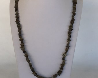 Vintage agate stone necklace With FREE WORLDWIDE SHIPPING