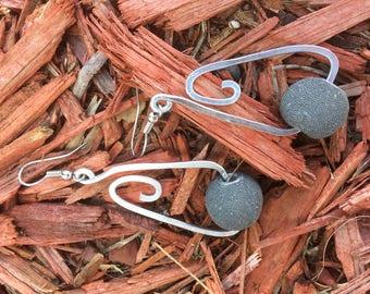 Contemporary Aluminum Earrings