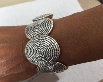 David Yurman wide Cuff Bracelet