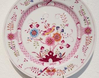 Oriental painting porcelain plate