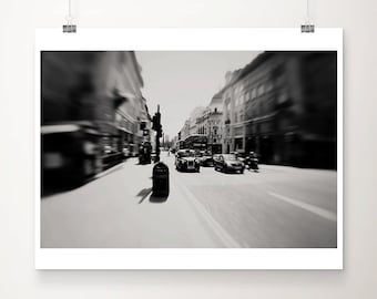 London photograph black and white photography black cab photograph London print London art London decor taxi photograph