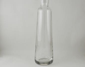 Vintage glass carafe with glass stopper liquor pitcher white wine decanter water carafe Accessories Ref: VLS319