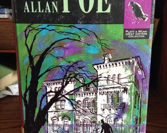 Edgar Allan Poe Stories 1961 Vintage Book - Hardcover, Short Stories, Poetry, The Raven, Collectible Book, Annabel Lee