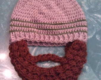 Ready to ship bearded beanie