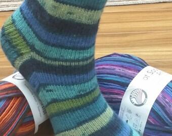 Pdf Patron  de chaussette de base 4 plis uni ou avec séquence