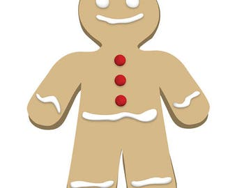Ginger Bread Man Cardboard Cutout