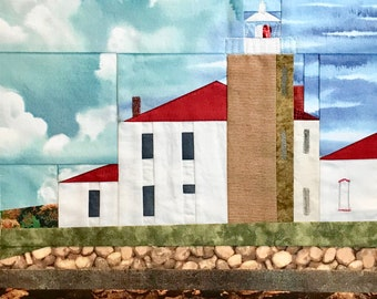 Watch Hill, RI Lighthouse quilt pattern