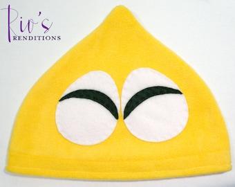 Puyo Puyo - Yellow Hat / Fleece Hat / Winter Hat / Puyo Hat / Video Game Characters