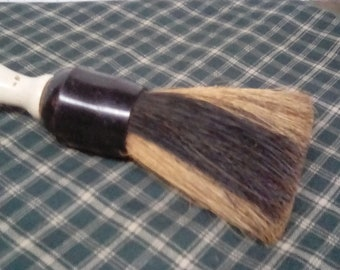Whisk Broom / Two Tone Natural Bristles  Clothes Brush / Wooden Handle Whisk Broom / Vintage Which Broom / Small Whisk=Clothes Brush Broom