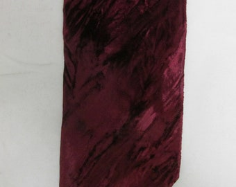 Vintage Crushed Velvet Men's Tie