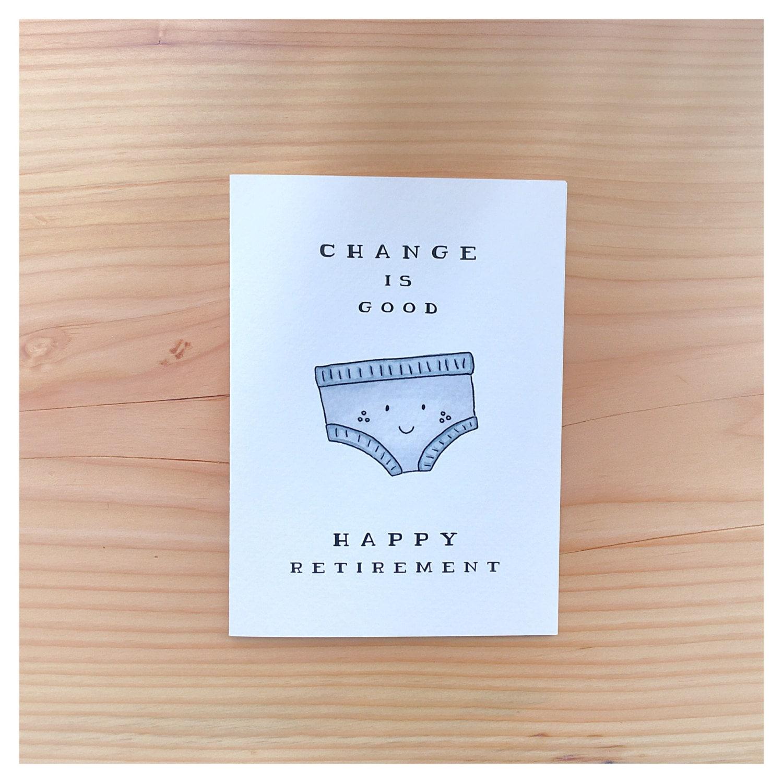 Retirement Card // funny retirement card, happy retirement ...