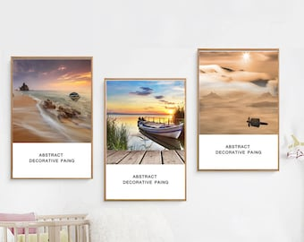 Different styles of scenery Wall Art