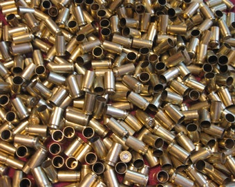 1000 - 9mm Polished Brass Casings