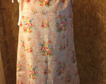 Size 6 A-line Sun Dress/Drawstring Dress/Nightie/Tunic